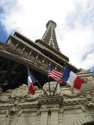 The 50-story replica of the Eiffel Tower at Paris Las Vegas (Photo by Maura Vernice)