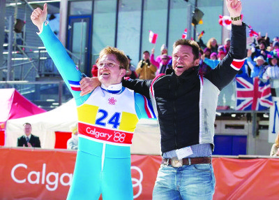 February Movie Previews Eddie The Eagle
