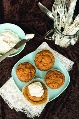 Gluten Free Carrot Pineapple Muffins