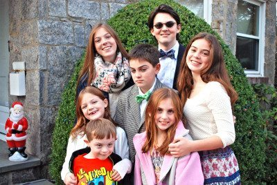The seven LaRosa kids
