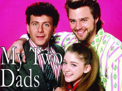 My Two Dads Paul Reiser (Michael Taylor), Greg Evigan (Joey Harris), Staci Keanan (Nicole Bradford)