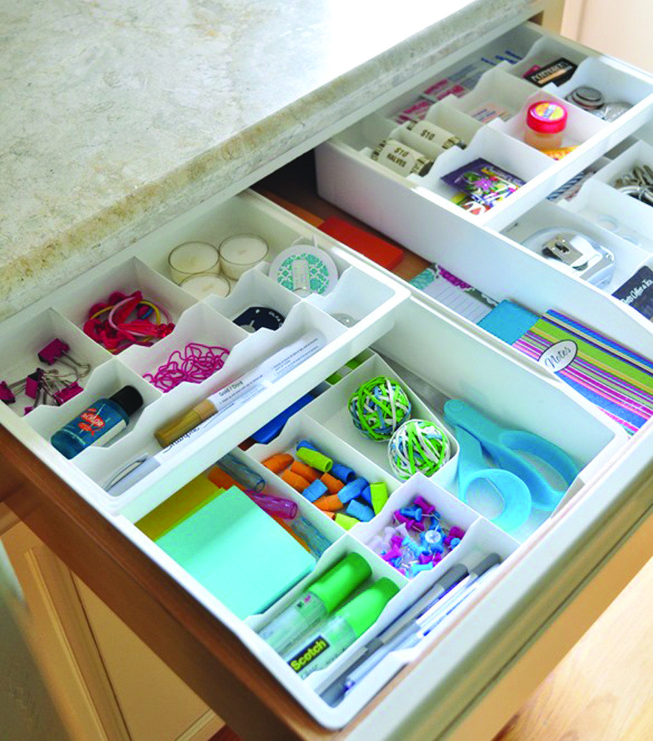 10 Tips For Perfectly Organized Kitchen Drawers The: Ten Tips To Be Organized