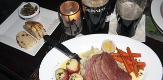 Paddy's Loft celebrates St. Patrick's Day with classic cuisine.