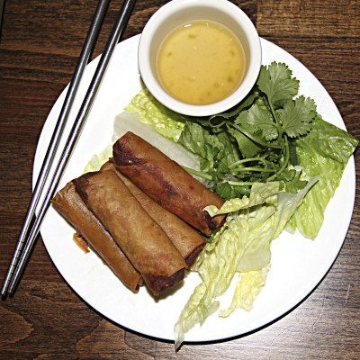 The Rolling Spring Roll Spring rolls