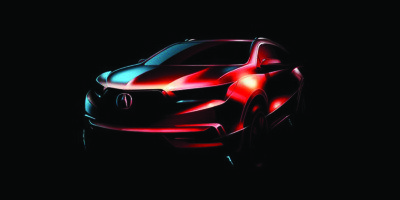 A hint at Acura's 2017 MDX