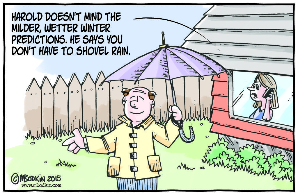 Rain weather cartoon