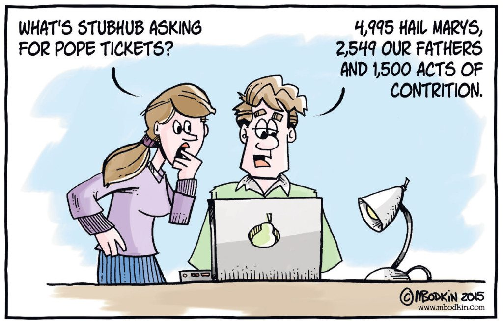 Stubhub cartoon