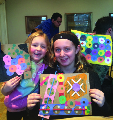 The Nassau County Museum of Arts welcomes families every Sunday for interactive art education programs.