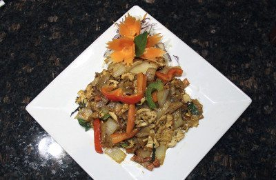 Frankly Thai Drunken noodles