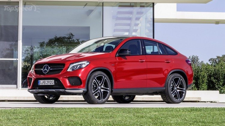 World Luxury Car Finalists Mercedes-Benz GLE Coupe