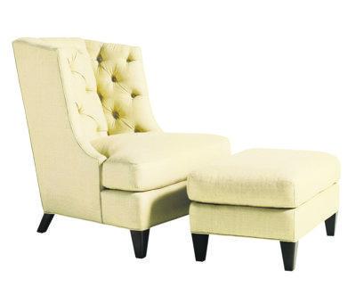 Rinfret Baker Moderne Wing Chair 2