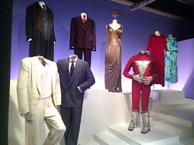 Costumes, technical gadgets and memorabilia are all a part of the museum's core exhibition.