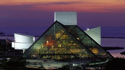 Rock And Roll Hall Of Fame Museum in Cleveland