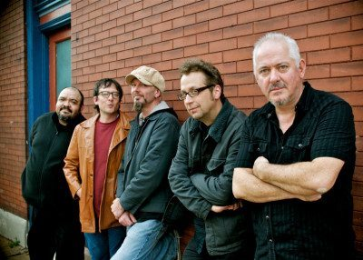 Jon Langford (far right) and the rest of The Waco Brothers