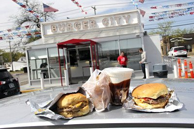 Long Island Fast Food Burgers Burger City Photo by Steve Mosco