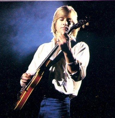 Justin Hayward early on in his career.
