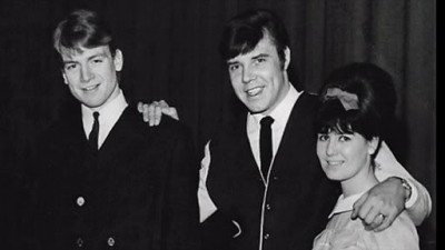 The Wilde Three from left: Justin Hayward, Marty Wilde and Joyce Wilde