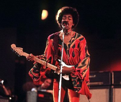 The Moody Blues share the bill for Jimi Hendrix's last live show at the 1970 Isle of Wight festival