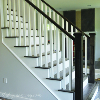 Lack of handrail support is a common fall hazard.