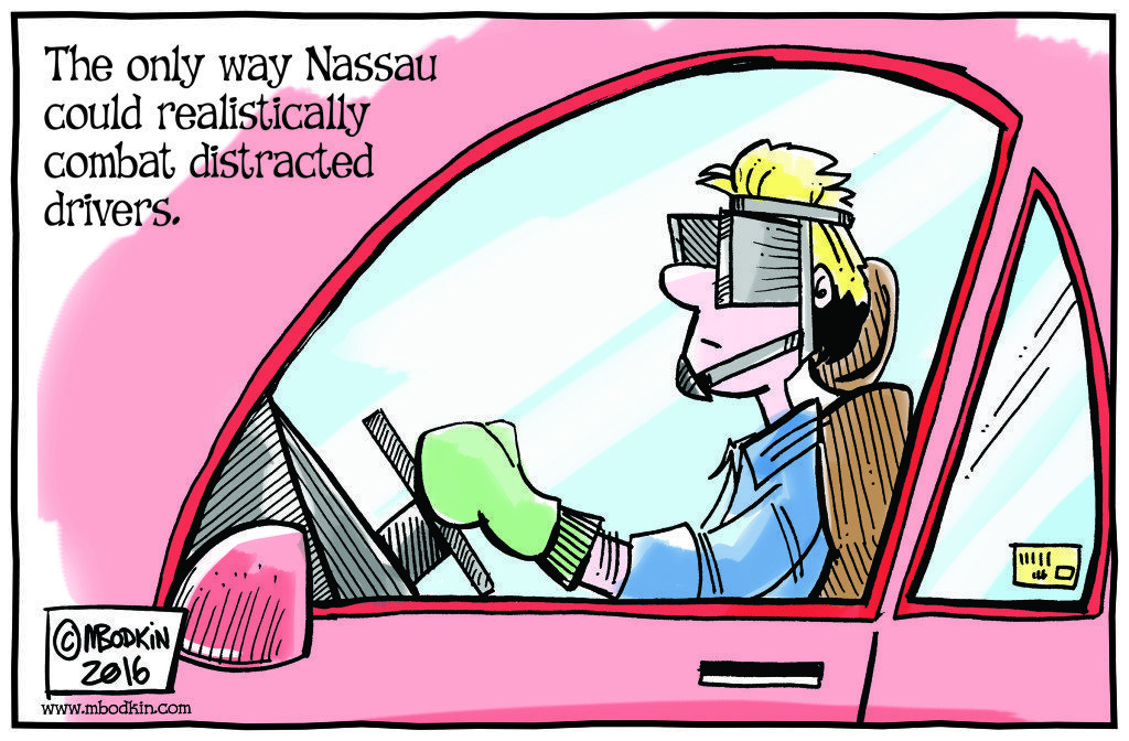 Nassau drivers cartoon