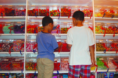 """Every """"want"""" like games, candy and comics, is usually categorized as a """"need"""" to kids."""