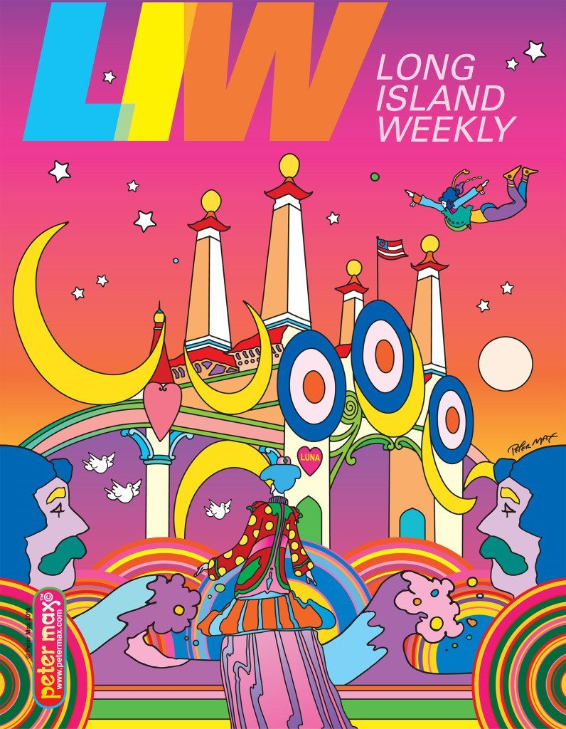 Cover art by Peter Max