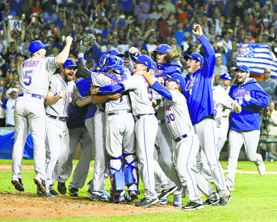 The New York Mets reignited its fan base with a playoff run that included a sweep of the Cubs in the NLCS.