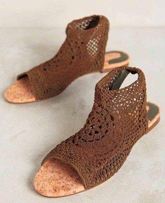 Anthro Sandals