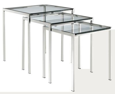 NANETTE Modway-Nimble-Stainless-Steel-Nesting-Table-Set 2