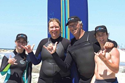Surf2Live instructors (Photos by Mary Jane Whalen)