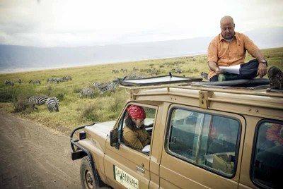 Andrew Zimmern in Tanzania