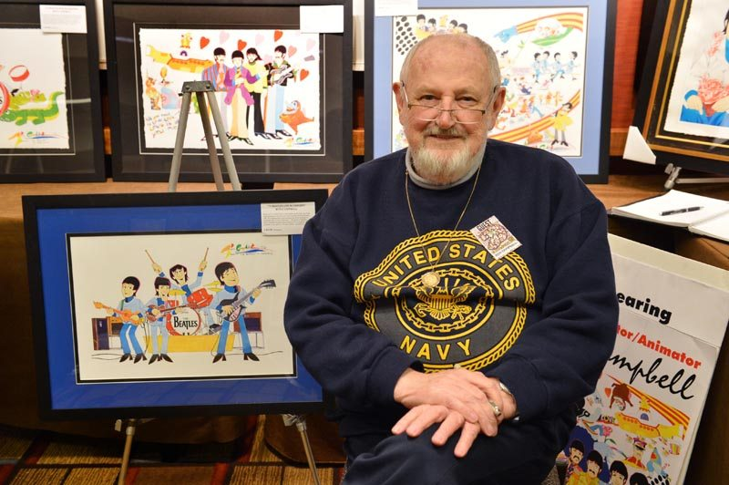 Cartoonist Ron Campbell will talk and give painting demonstrations at two Long Island locations this week. (Photo by Rob Shanahan)
