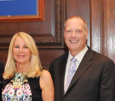 Angela Susan Anton, president of the museum's board of trustees and Dr. Karl E. Willers, director of the museum.