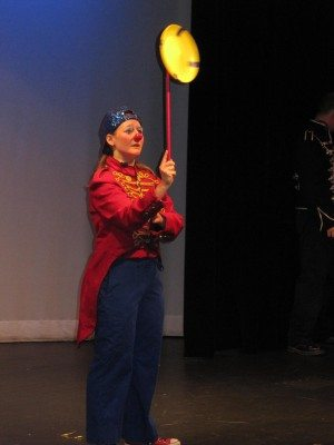 """Watch all the mischief … and skills… that one clown can produce when National Circus Project rolls in to the LICM Theater with its """"Solo Circus."""""""