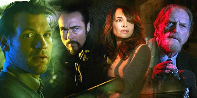 The cast of The Strain