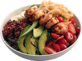Blackened Shrimp Cobb Salad from Roast Sandwich House
