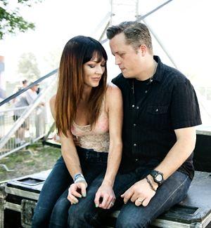 Nashville power couple Amanda Shires and Jason Isbell