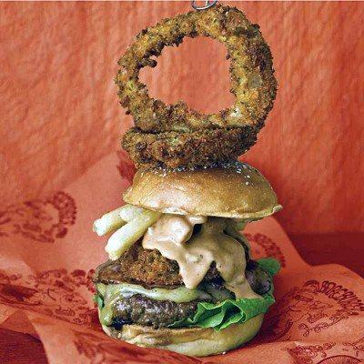 Bareburger's Supreme burger