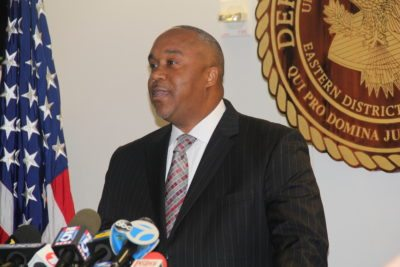U.S. Attorney Robert Capers held a press conference today to announced details of the indictmenents