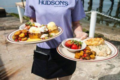 Brunch at Hudson's