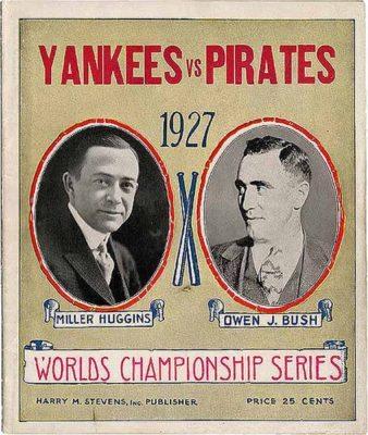1927-world-series World Series and New York City