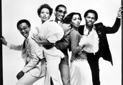 Chic circa late 1970s/early 1980s with Nile Rodgers (far right)