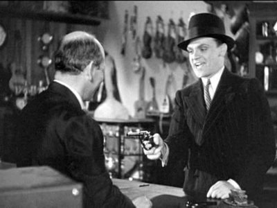 James Cagney pulling a fast one in 1931's The Public Enemy