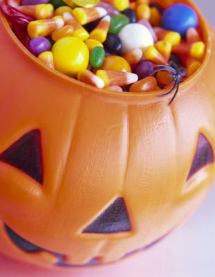 Halloween Candy --- Image by © Royalty-Free/Corbis