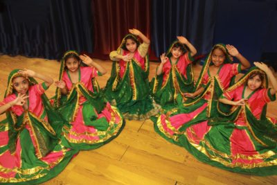 Traditional dances performed at Diwali Festival at Children's Museum