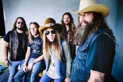 Blackberry Smoke, Nov. 18 at the Beacon Theatre (Photo courtesy of Webster & Associates PR)
