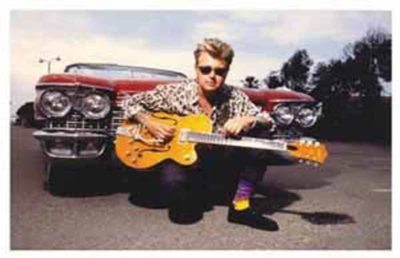 Brian Setzer Nov. 27 at the NYCB Theatre