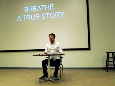 David Lee Wells performs Breathe