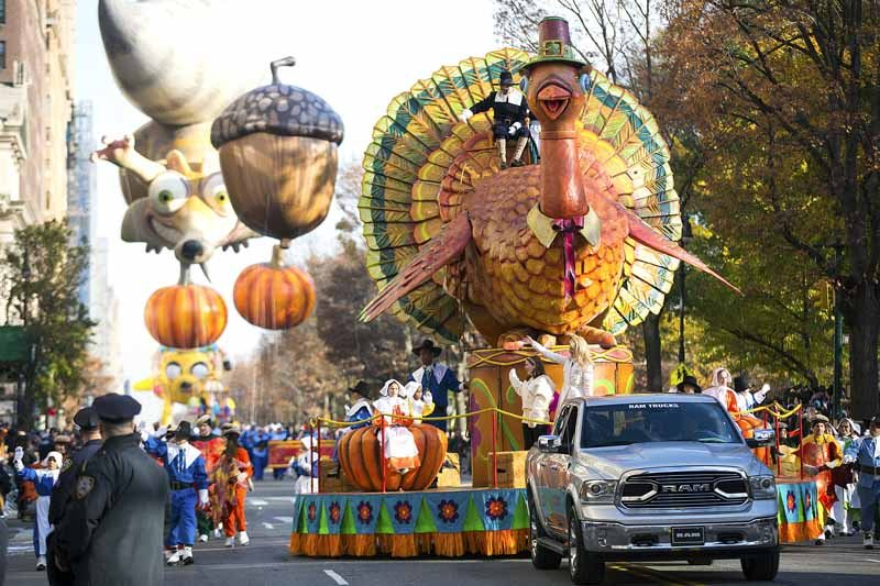 Tom the Turkey is one of the stars of the parade. (Photos courtesy of Macy's)