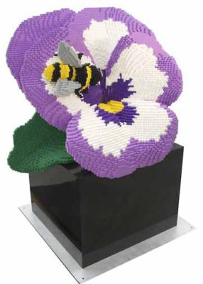 Pansy and Bee by Sean Kenney (SeanKenney.com)